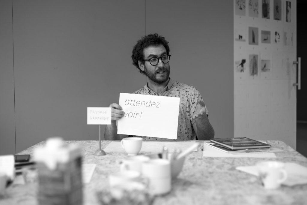 attendez voir ! rencontre avec Antoine Giard - Artothèque de la