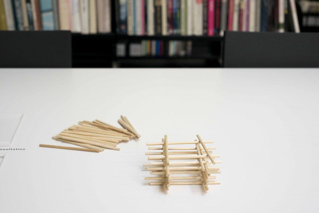 Baguettes en bois à bricoler