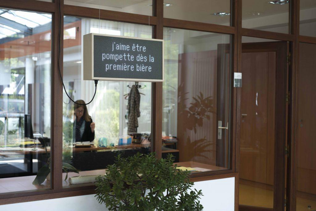 exposition au pôle G04 du CHGR à Rennes avec La Criée centre d'art contemporain